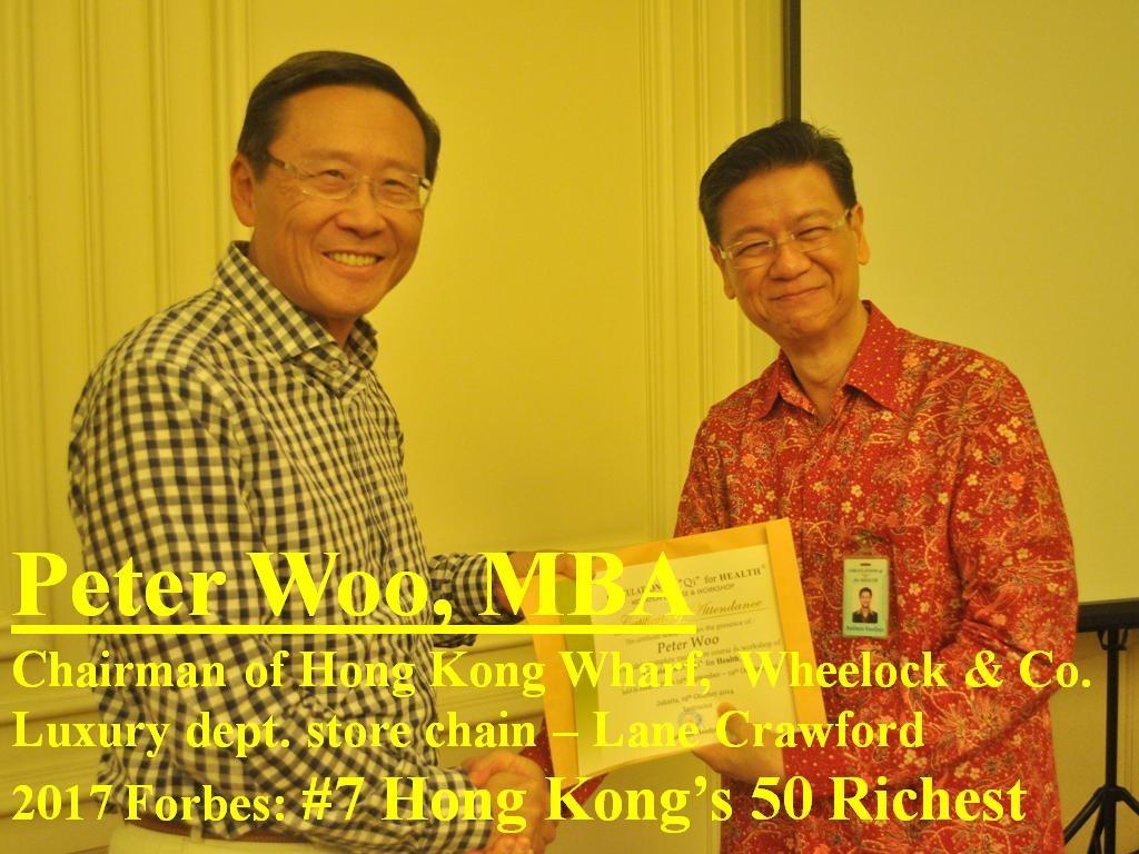 Peter Woo, MBA.